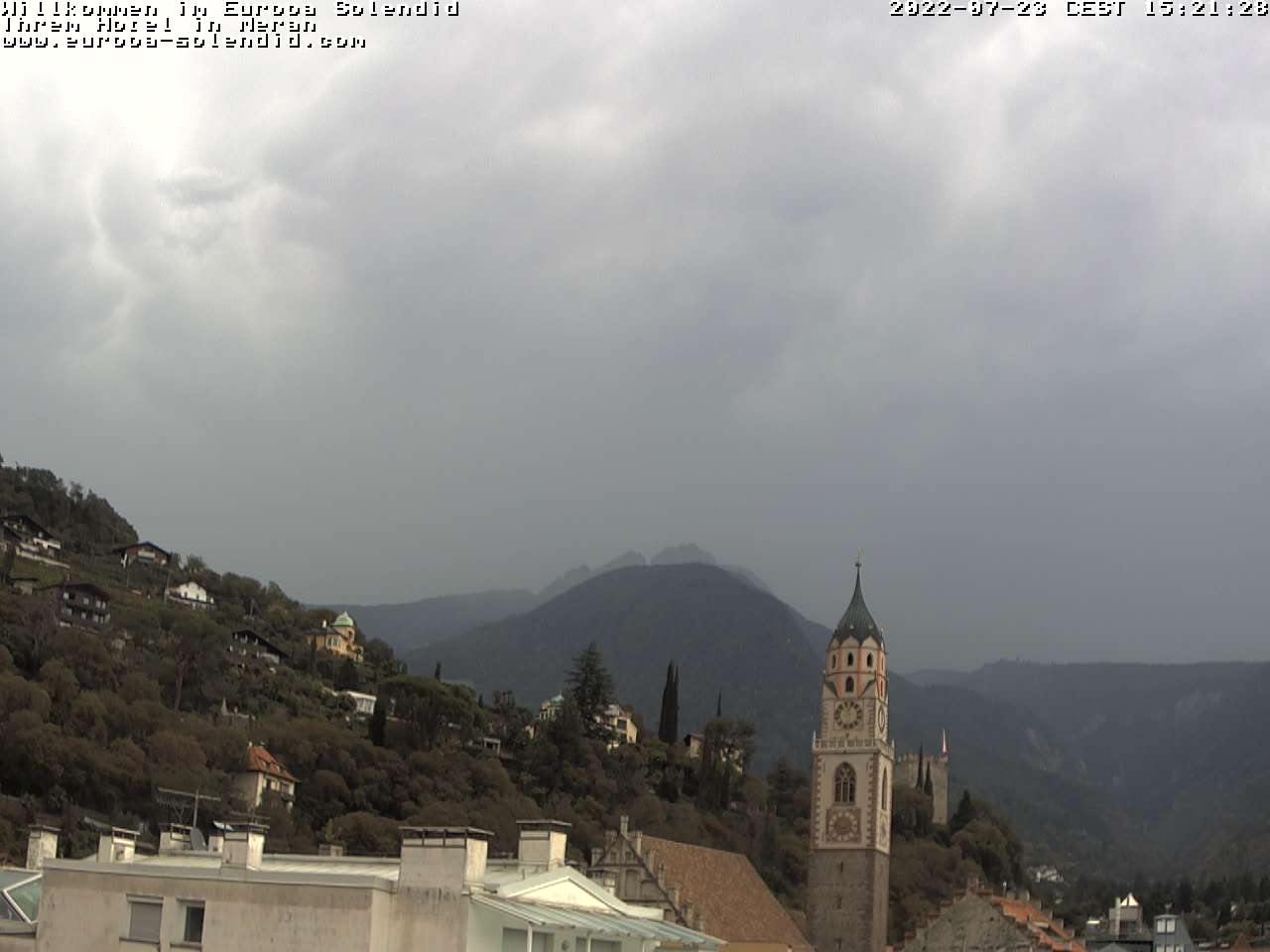 Unsere Webcam in Meran